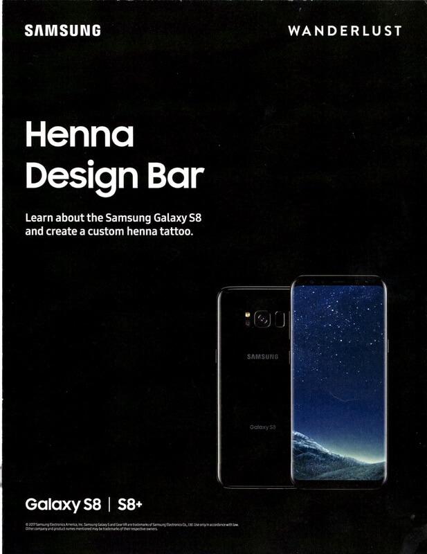 LA Henna Samsung